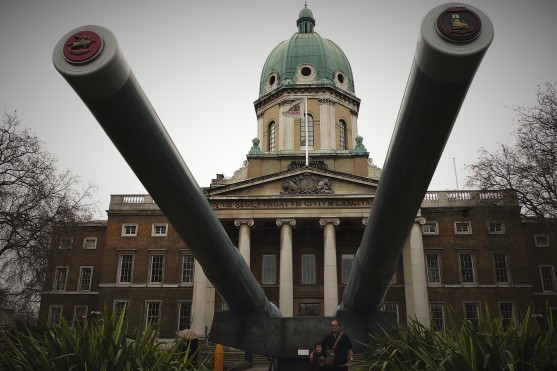 Huge naval guns were converted for artillery use on the Western Front
